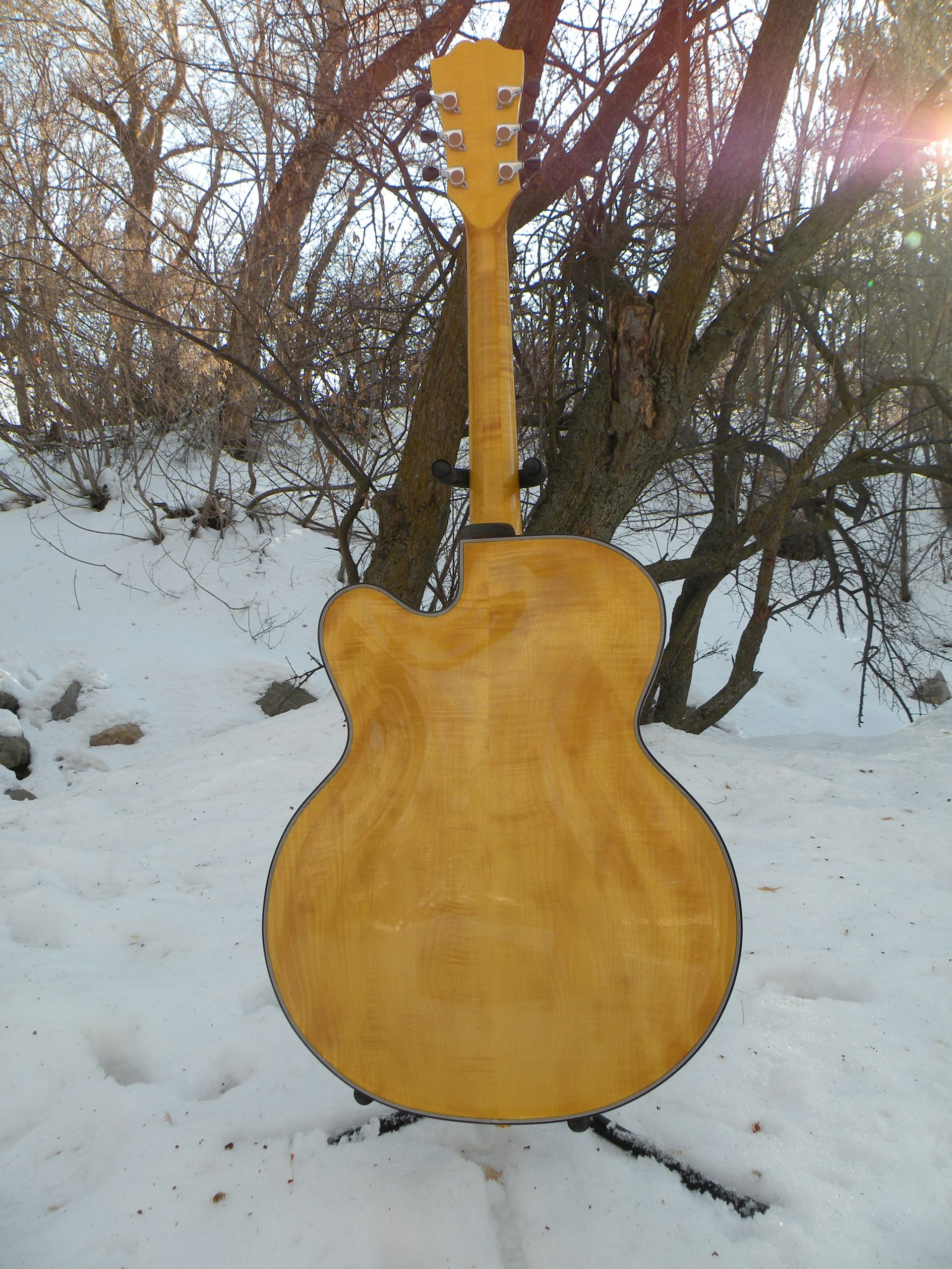 Figured Maple Archtop